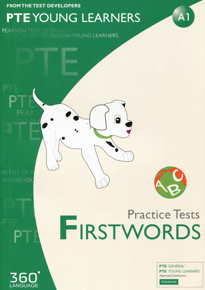 Pearson Test of English Young Learners: A1: Practice Tests: Firstwords