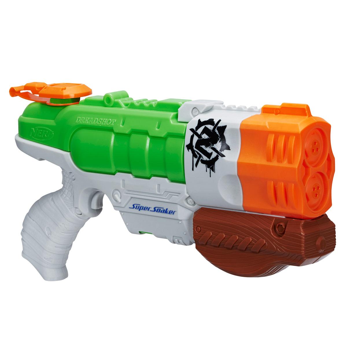 Nerf Водный бластер  Super Soaker: Дрэдшот  - Игрушечное оружие