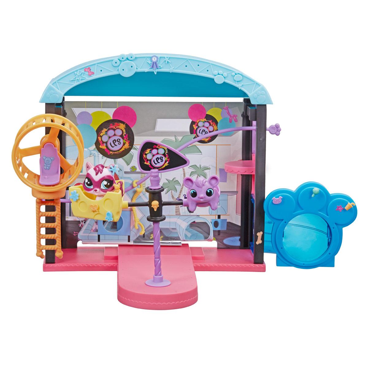 Littlest Pet Shop Игровой набор Веселый парк развлечений play doh игровой набор магазинчик домашних питомцев