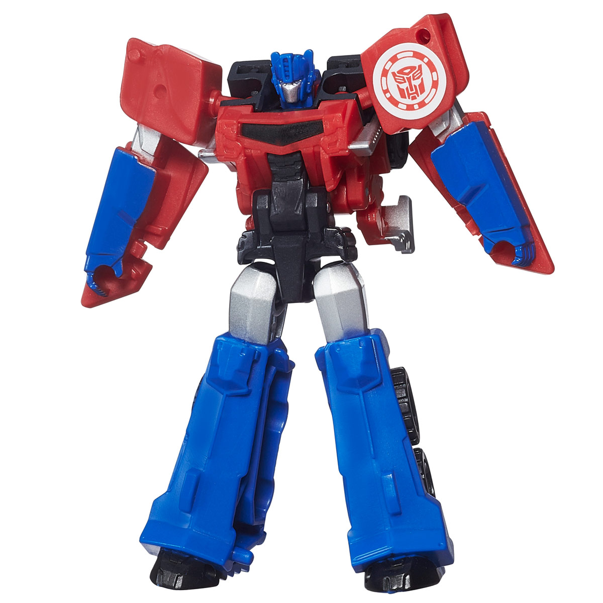 Transformers RID Legion: Optimus Prime rid dark optimus prime nemesis prime car robot classic toys for boys action figure 12cm with box d0087