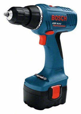 Bosch Аккумуляторный шуруповерт GSR 14,4-2 аккумуляторный шуруповерт bosch gsr 14 4 ve 2 li 0 601 9d9 000