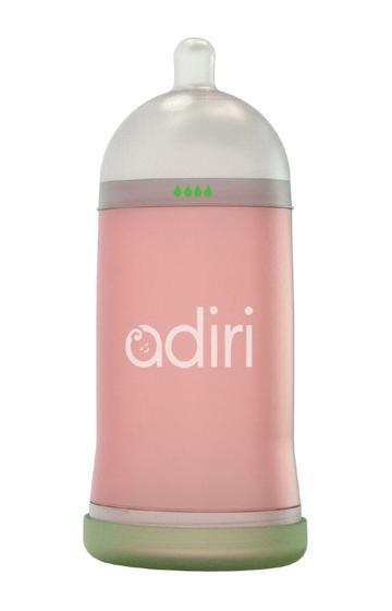 Детская бутылочка Adiri NxGen Slow Flow Pink, 3-6 мес., 281 мл.