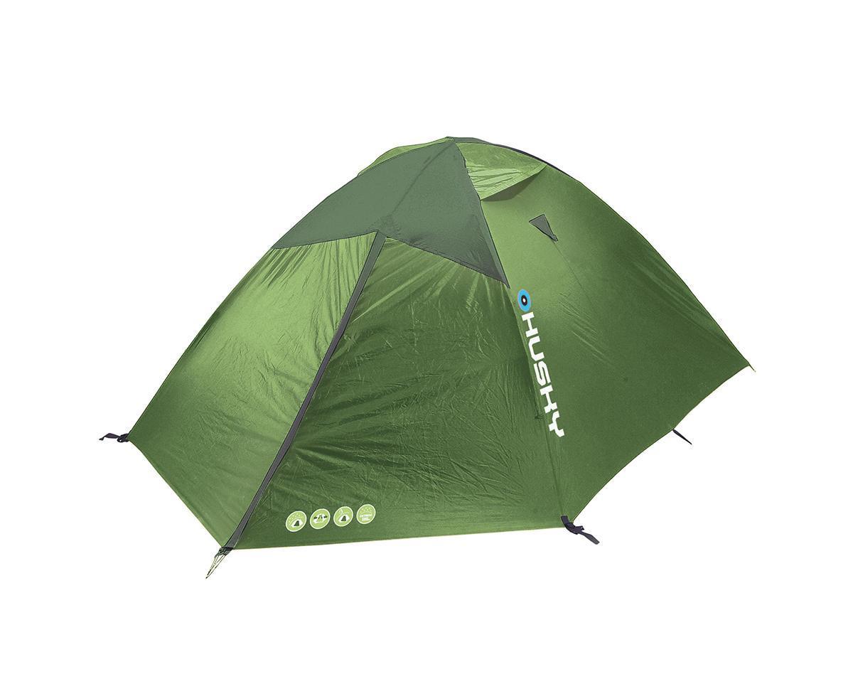 Палатка Husky Baron 3 Light Green, цвет: светло-зеленый палатка husky felen 3 4 dark green цвет темно зеленый