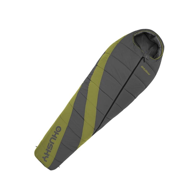 Спальный мешок Husky Espace, правосторонняя молнияУТ-000047942Легкий, компактный спальник Husky Espace подходит для универсального использования с весны до зимы. При весе менее килограмма - температура комфорта - 0 градусов! В качестве утеплителя использован Thermolite - теплоизолирующий материал, представляющий собой спиралевидные волокна, полые внутри. Обладает прекрасными потребительскими качествами, не теряет своих свойств в намокшем состоянии. Уникальные детали: теплоизоляционный воротник, капюшон с карманом для фиксации коврика, внешний карман, двухсторонняя молния, антискользящие полосы.В комплект также входит компрессионный мешок.
