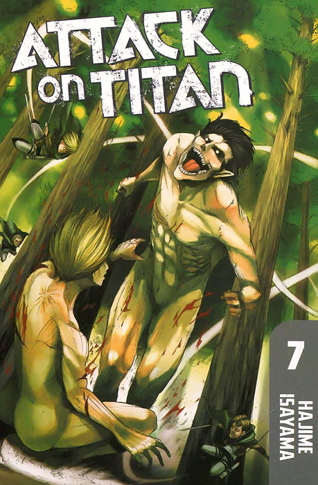 Attack on Titan: Volume 7 hajime isayama attack on titan volume 10