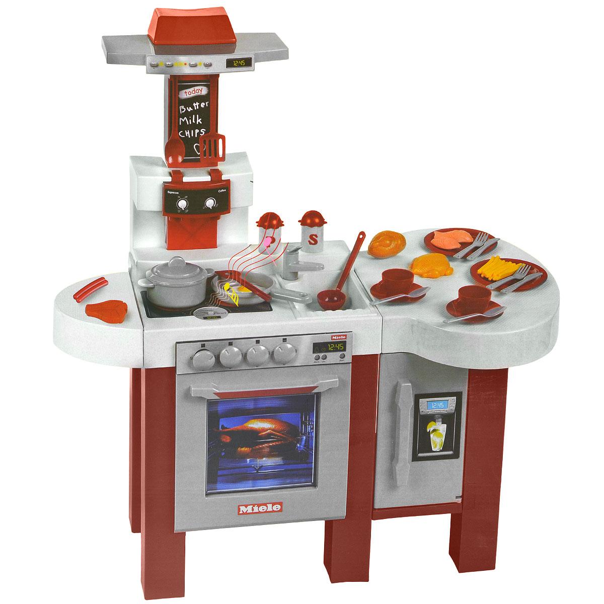 Игровой набор Klein Miele. Кухонный центр с кофемашиной klein miele