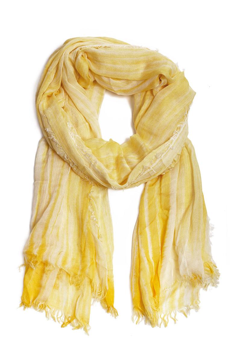 Палантин Moltini, цвет: желтый. 31004-04J. Размер 190 см х 95 см
