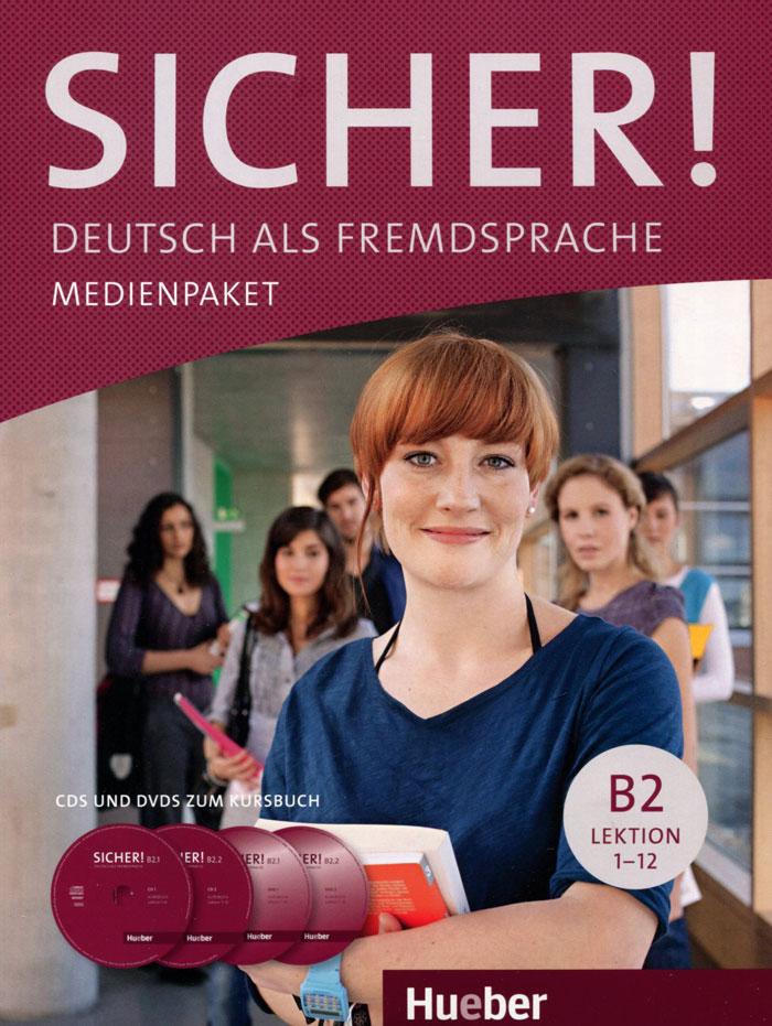 цена на Sicher! B2: Kursbuch (аудиокурс на 2 CD, 2 DVD)