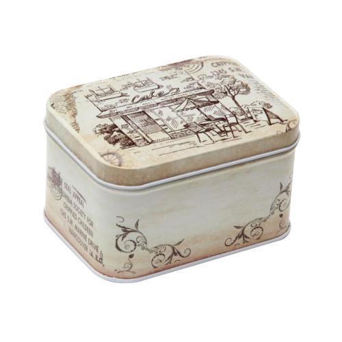Шкатулка декоративная Феникс-презент Кафе, 10,5 см х 8 см х 6 см коробка подарочная феникс презент восточный калейдоскоп 16 6 х 7 6 х 1 см