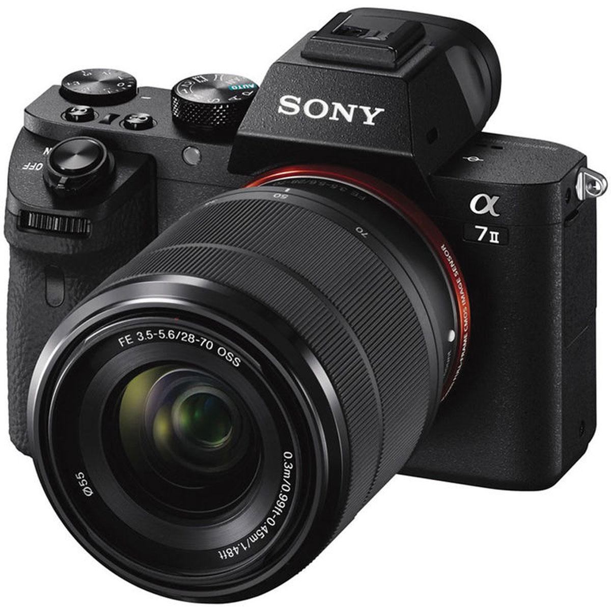 Sony Alpha A7 II (M2) Kit 28-70mm, Black цифровая фотокамера - Цифровые фотоаппараты