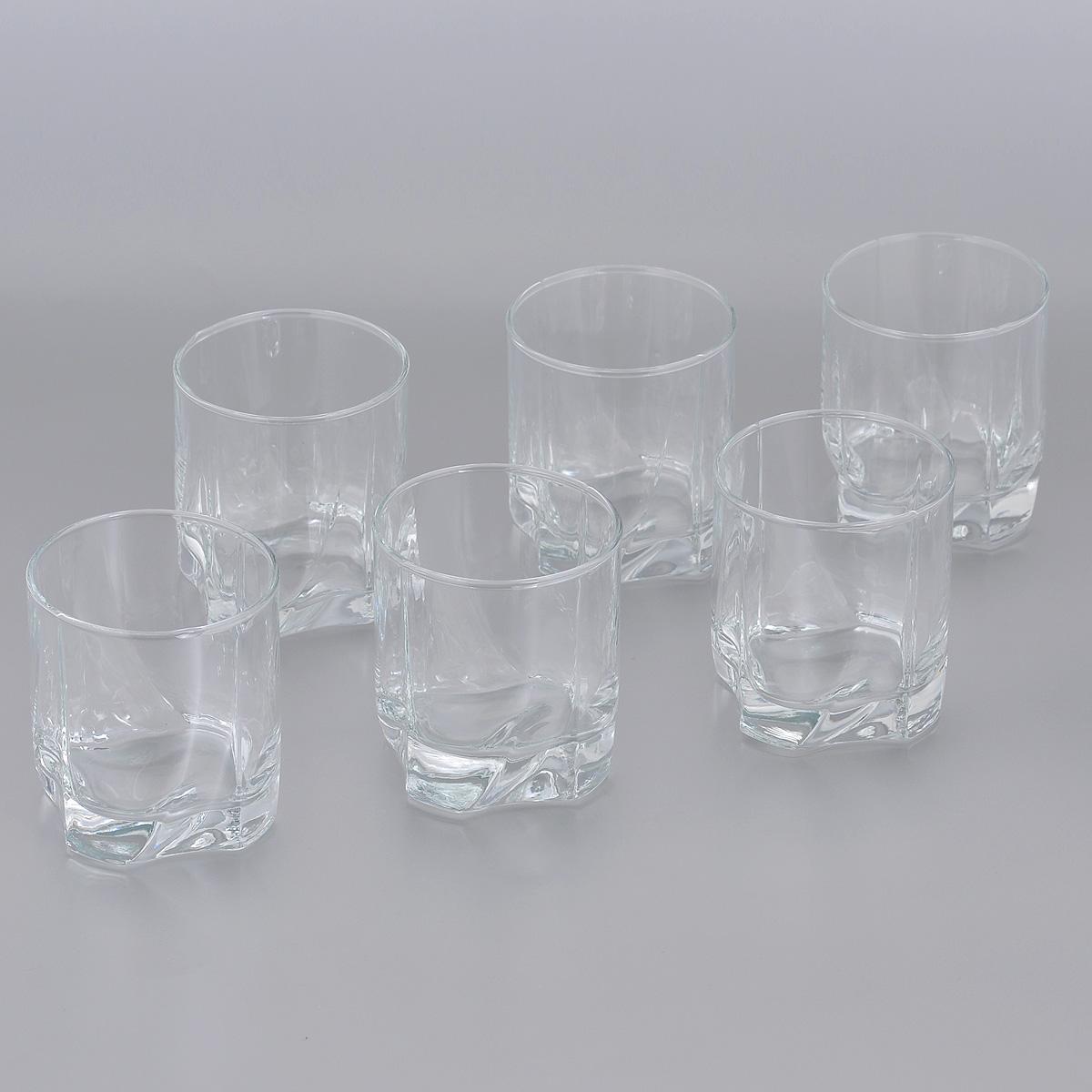Набор стаканов Pasabahce Luna, 240 мл, 6 шт. 42338B42338BНабор Pasabahce Luna, выполненный из высококачественного стекла, состоит из шести стаканов. Изделия прекрасно подойдут для подачи виски. Эстетичность, функциональность и изящный дизайн сделают набор достойным дополнением к вашему кухонному инвентарю. Набор стаканов Pasabahce Luna украсит ваш стол и станет отличным подарком к любому празднику. Можно использовать в морозильной камере и микроволновой печи. Можно мыть в посудомоечной машине.Диаметр стакана по верхнему краю: 7 см. Высота стакана: 8 см.