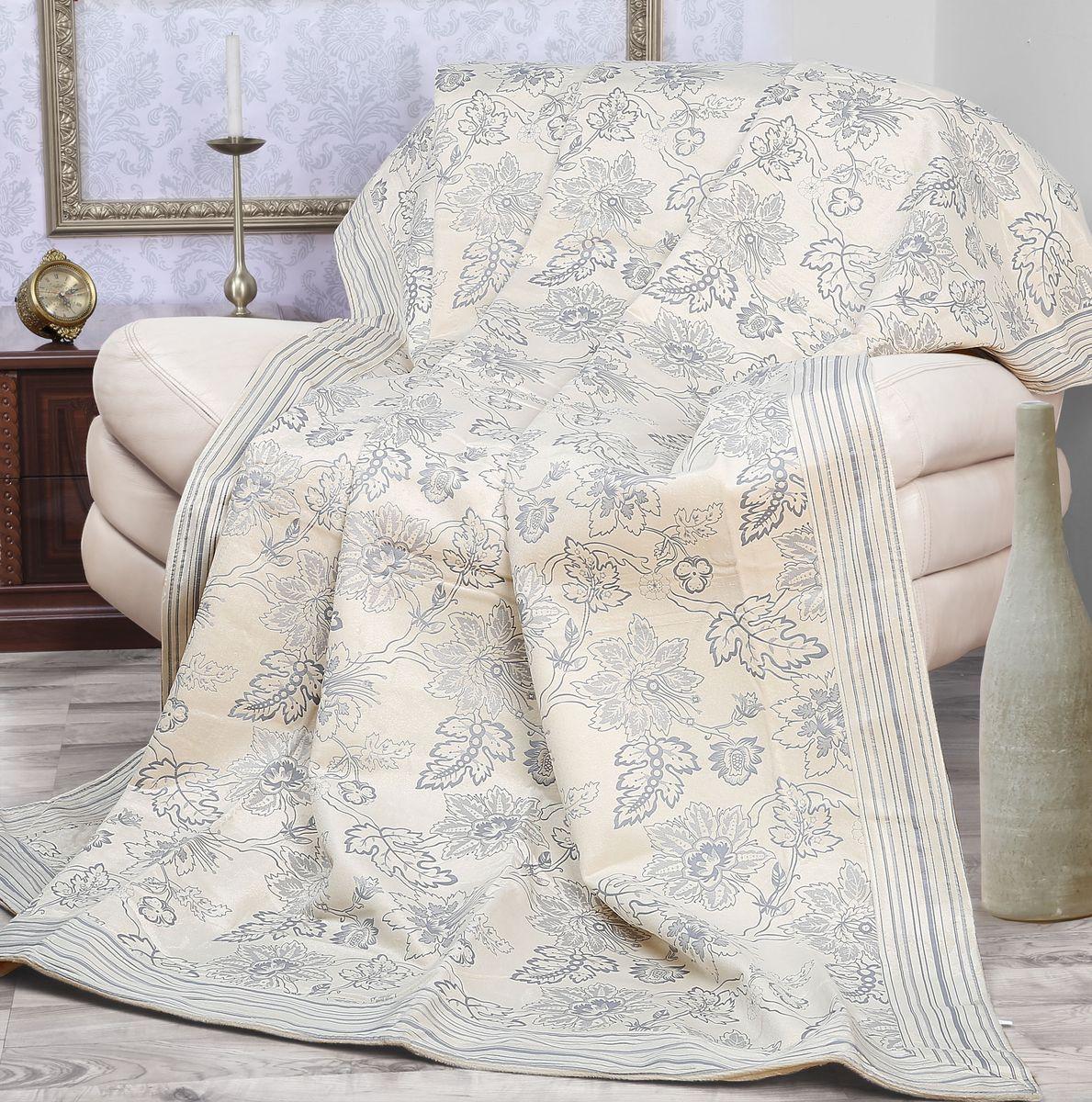 Покрывало Mona Liza Elite Camelia, цвет: бежевый, серый, 200 х 220 см530961/2Роскошное покрывало Mona Liza Elite Camelia из высококачественного полиэстера гармонично впишется в интерьер вашего дома и создаст атмосферу уюта и комфорта. Такое покрывало согреет в прохладную погоду и будет превосходно дополнять интерьер вашей спальни. Высочайшее качество материала гарантирует безопасность не только взрослых, но и самых маленьких членов семьи. Небольшой ворс придает покрывалу мягкость и оригинальность. Покрывало может подчеркнуть любой стиль интерьера, задать ему нужный тон - от игривого до ностальгического. Покрывало - это такой подарок, который будет всегда актуален, особенно для ваших родных и близких, ведь вы дарите им частичку своего тепла! Покрывала серии Mona Liza Elite выполнены из шенилловой ткани деворе - при выжигании части волокон образуется характерный рельефный рисунок.