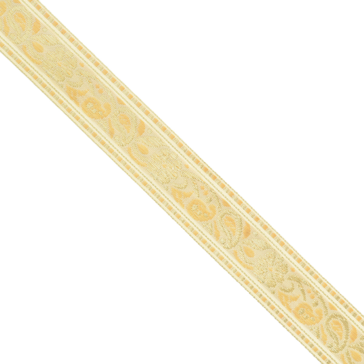 Тесьма декоративная Астра, цвет: бежевый (А32), ширина 2,5 см, длина 16,4 м. 77033267703326_A32Декоративная тесьма Астра выполнена из текстиля и оформлена оригинальным орнаментом. Такая тесьма идеально подойдет для оформления различных творческих работ таких, как скрапбукинг, аппликация, декор коробок и открыток и многое другое. Тесьма наивысшего качества и практична в использовании. Она станет незаменимым элементом в создании рукотворного шедевра. Ширина: 2,5 см.Длина: 16,4 м.