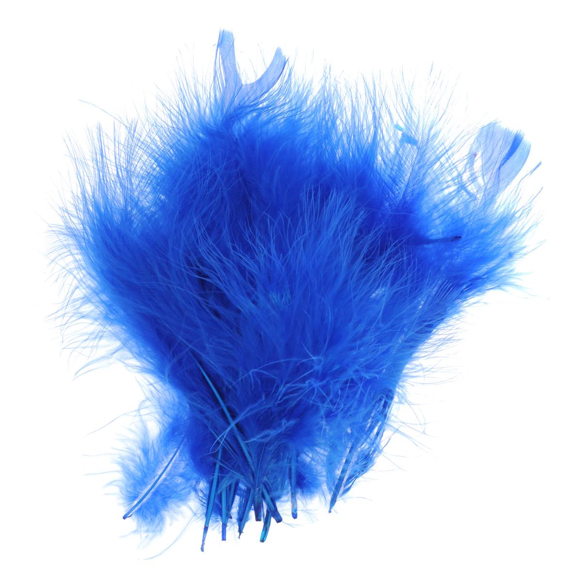 Перо декоративное Астра, индейка, цвет: синий (24), 20 шт7700236_24Декоративные перья Астра являются уникальным творением природы. Именно перья помогают понять настоящую красоту полета, легкость и девственную чистоту. Нередко на первый взгляд декоративные перья кажутся весьма хрупкими, но это вовсе не так, ведь они достаточно прочные и долговечные. Именно это свойство позволяет применять их в оформлении различных аксессуаров, бижутерии, украшениях. Более того, нередко декоративные перья используются для украшения праздников и торжеств, чтобы придать особую помпезность помещению.