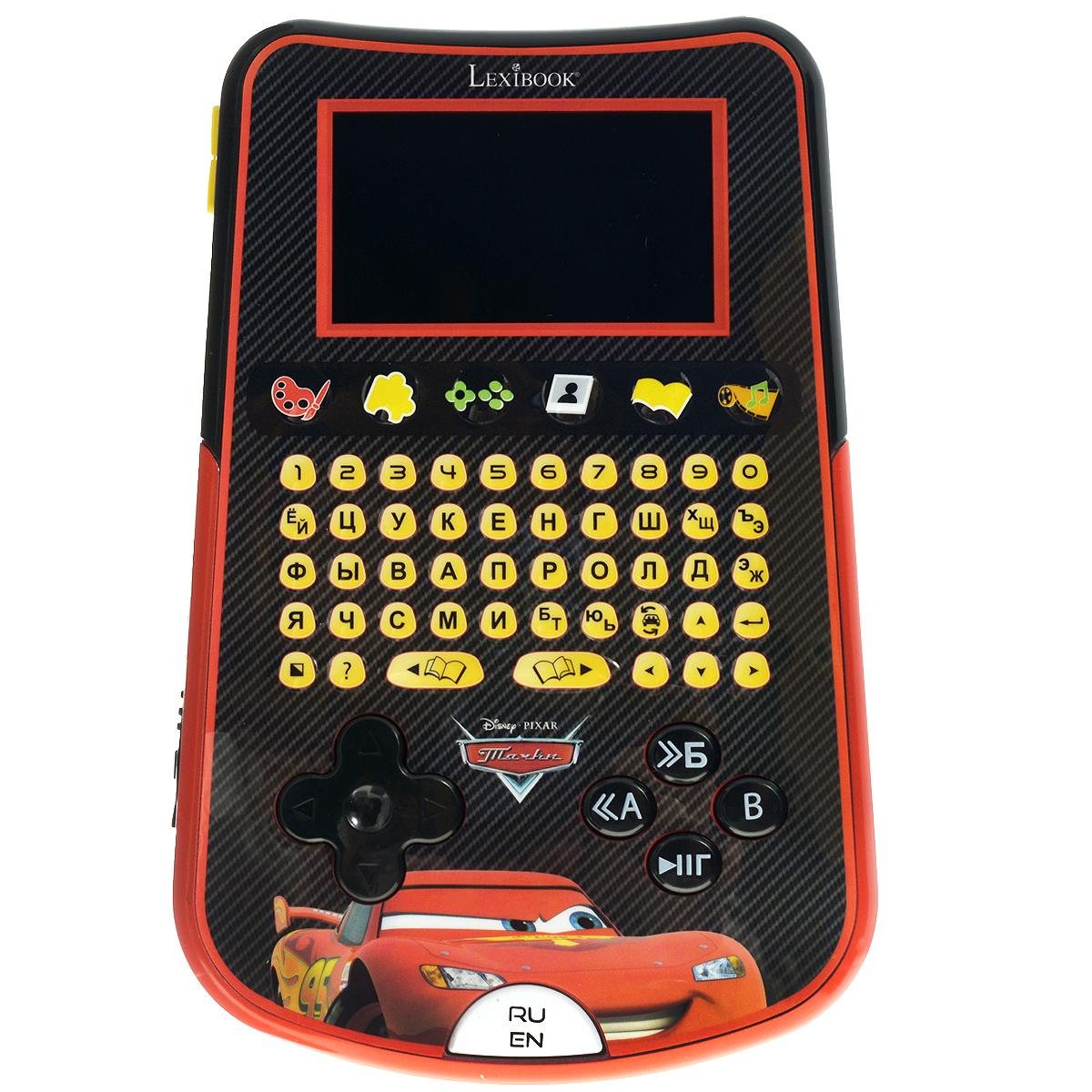 Компьютер планшетный детский Lexibook Тачки планшеты turbopad планшетный компьютер turbopad 712 new