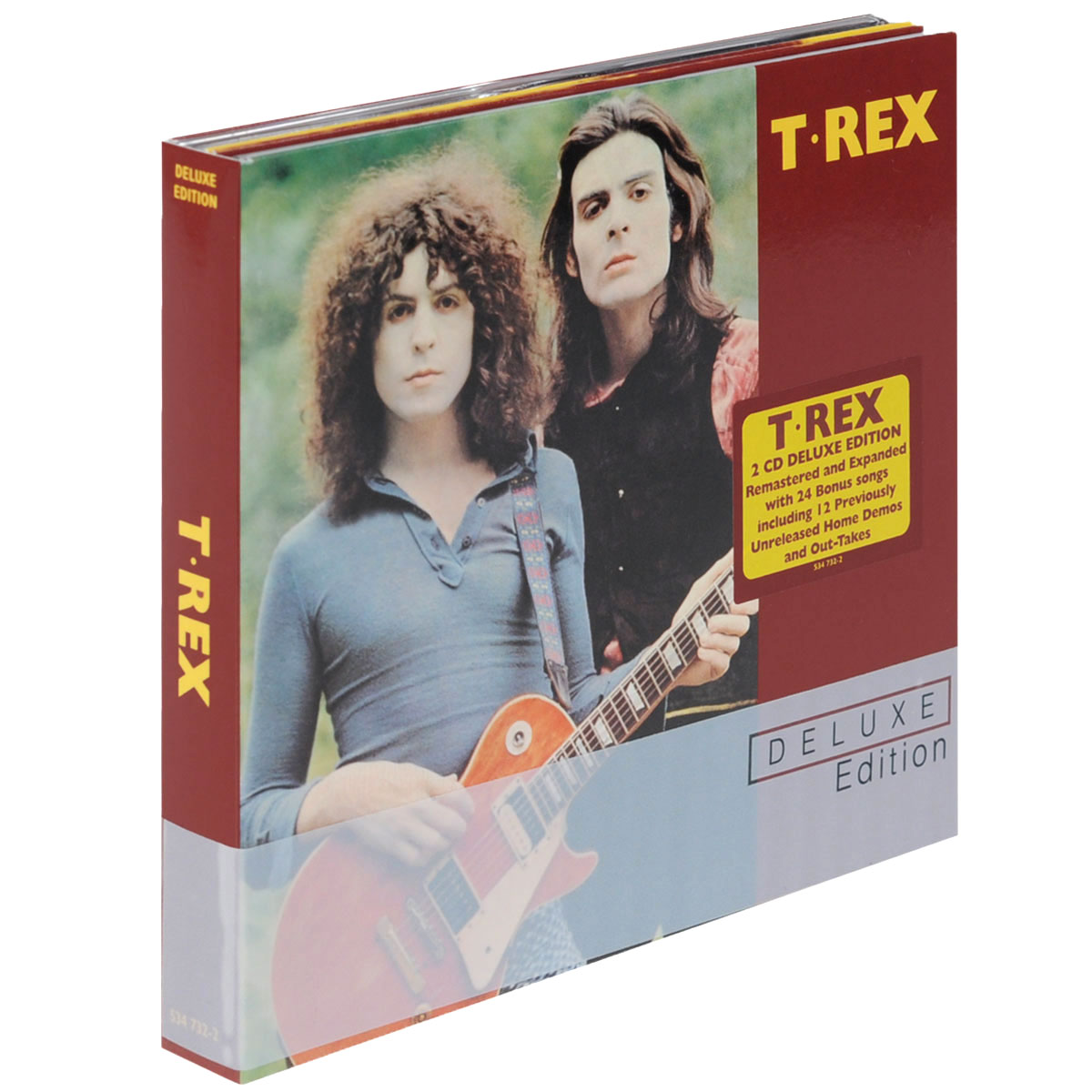 T. Rex T. Rex. T. Rex. Deluxe Edition (2 CD) энрике иглесиас enrique iglesias greatest hits deluxe edition cd dvd