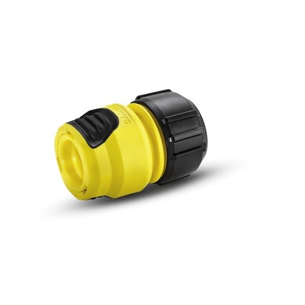 Коннектор универсальный Karcher Plus 2.645-193.02.645-193.0Универсальная муфта Karcher Plus с функцией аквастоп предназначена для соединения шлангов между собой. Коннектор совместим со всеми стандартными шлангами. Выполнен из пластика.