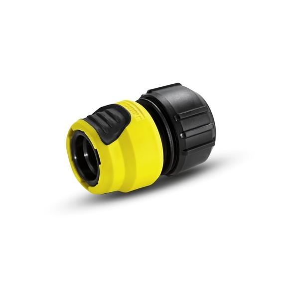 Коннектор универсальный Karcher Plus, с аквастопом 2.645-194.02.645-194.0Универсальная муфта Karcher Plus с функцией аквастоп предназначена для соединения шлангов между собой. Коннектор совместим со всеми стандартными шлангами. Выполнен из пластика.