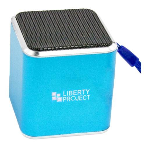 Liberty Project M1, Blue портативная колонка aluminum project box splitted enclosure 25x25x80mm diy for pcb electronics enclosure new wholesale