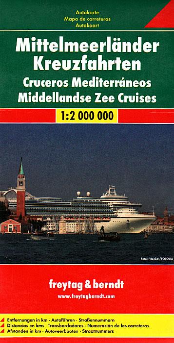 Mittelmeerlander Kreuzfahrten / Cruceros Mediterraneos / Middellandse Zee Cruises