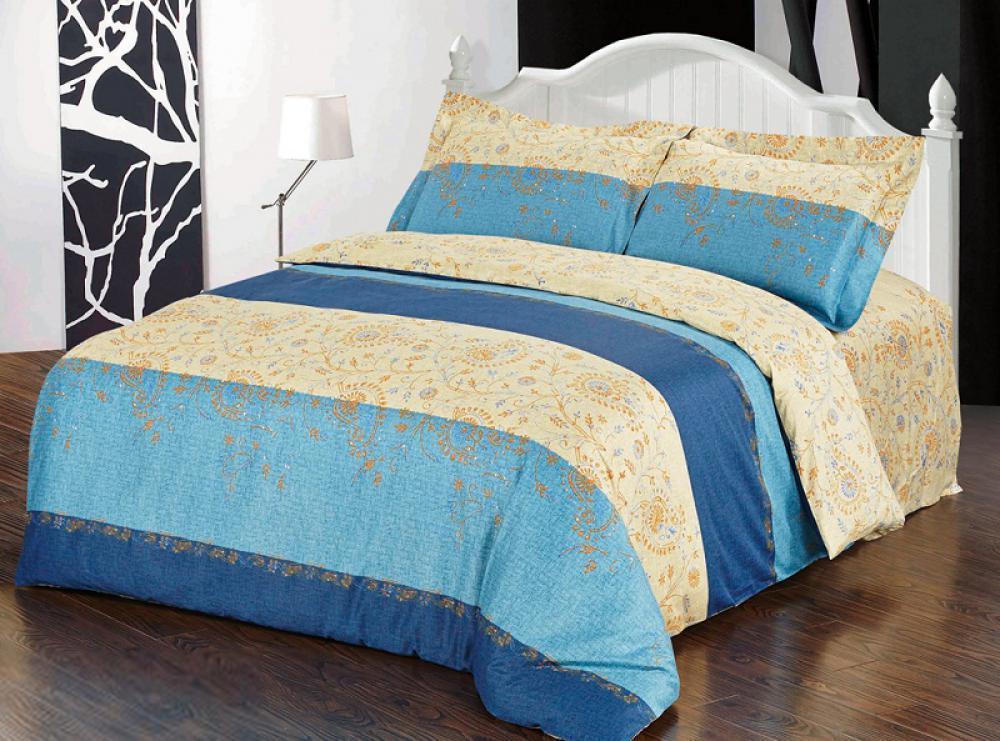 Комплект белья 10383 (2-спальный КПБ, сатин, наволочки 50x70)