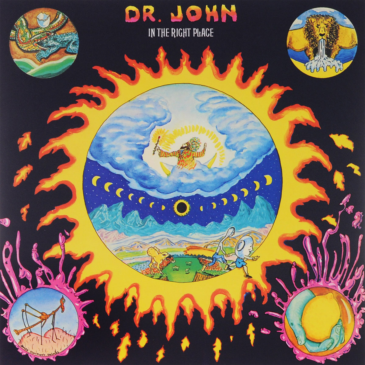 Доктор Джон Dr. John. In The Right Place (LP) james yorkston the cellardyke recording and wassailing society 2 lp