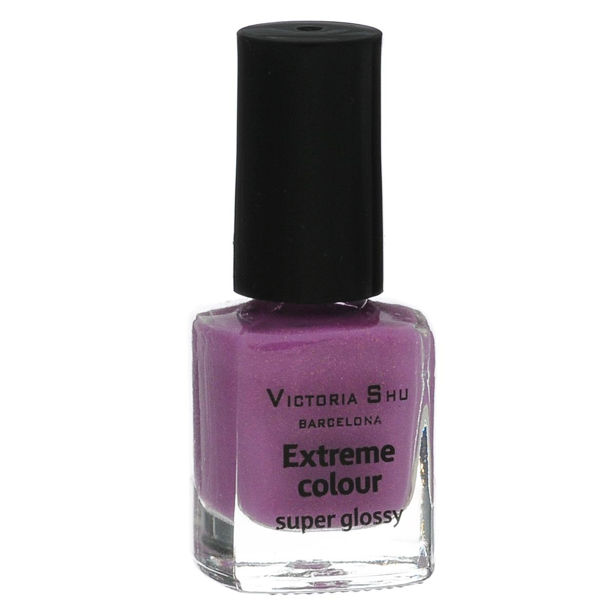 Victoria Shu Лак для ногтей Extreme Colour, тон № 259, 6 мл776V15356EXTREME COLOUR от VICTORIA SHU – это 35 ярких, смелых, соблазнительных оттенков. Модный тренд – матовая, насыщенная текстура. Любые цвета – на любой вкус, от нежных пастельных, интенсивных супермодных оранжевых, лиловых и оттенков фуксии до сенсационных красного и черного.