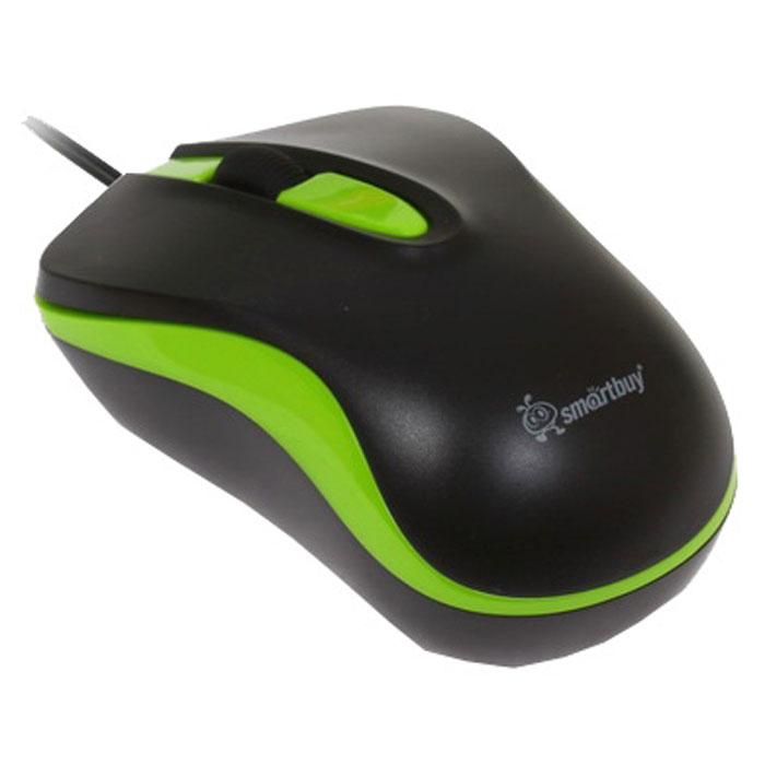 Smartbuy SBM-317-KN, Black Green проводная мышь