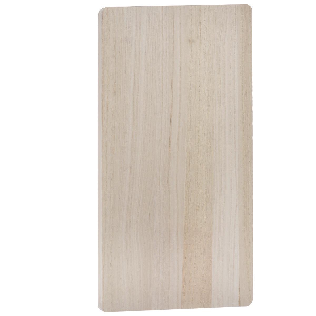 Доска разделочная Hatamoto, 53 см х 29,5 см. H-347H-347Разделочная доска Hatamoto выполнена из адамова дерева (павловнии) - невероятно прочного и легкого материала. Такая доска обладает высокими антибактериальными и гигиеническими свойствами, легко моется и быстро сохнет.