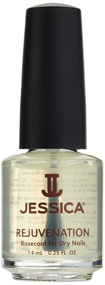 Jessica Базовое покрытие с маслом жожоба для сухих ногтей Rejuvenation 7,4 мл