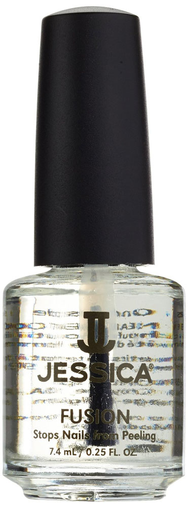 Jessica Средство для слоящихся ногтей Fusion 7,4 млUPT 200Каучуковые смолы деликатно сцепляют слои ногтевой пластины, предотвращая дальнейшее расслаивание. Витамины питают ногтевую пластину и способствуют здоровому росту ногтей.