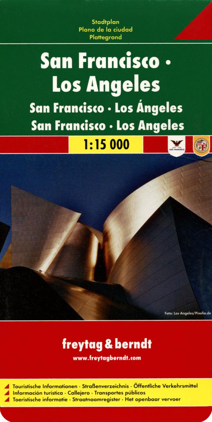 San Francisco, Los Angeles: Stadtplan riesenplan wien stadtplan