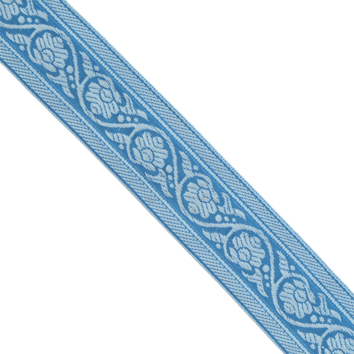 Тесьма декоративная Астра, цвет: синий (187/184), ширина 3,5 см, длина 16,4 м. 7703348 тесьма декоративная астра цвет болотный зеленый с19 ширина 2 5 см длина 9 м 7703433