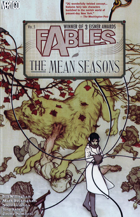Fables: Volume 5: The Mean Seasons fables volume 5 the mean seasons
