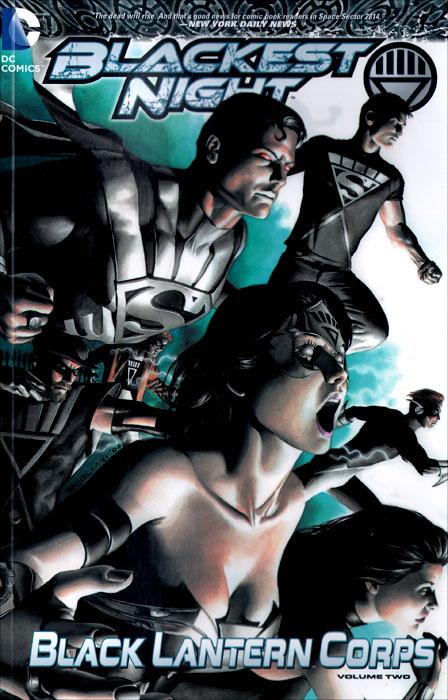 Blackest Night: Black Lantern Corps: Volume 2 jsa black adam and isis