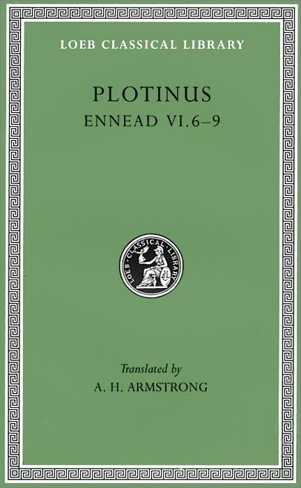 Ennead 6–9 L468 V 7 (Trans. Armstrong)(Greek) the anecdota or secret history l290 v 6 trans dewing greek