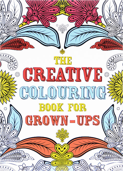 The Creative Colouring Book for Grown-Ups folk art patterns to colour
