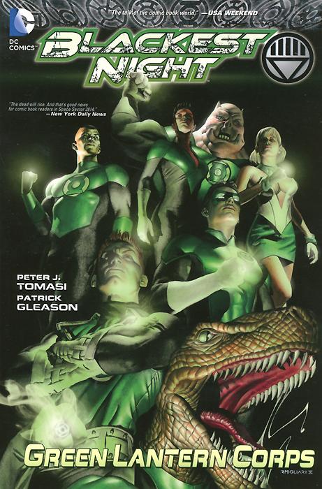 Blackest Night: Green Lantern Corps blackest black