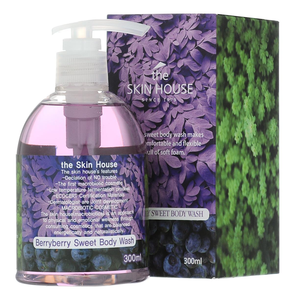 The Skin House Гель для душа с экстрактом ягод, 300 мл fa гель для душа oriental moments 250 мл