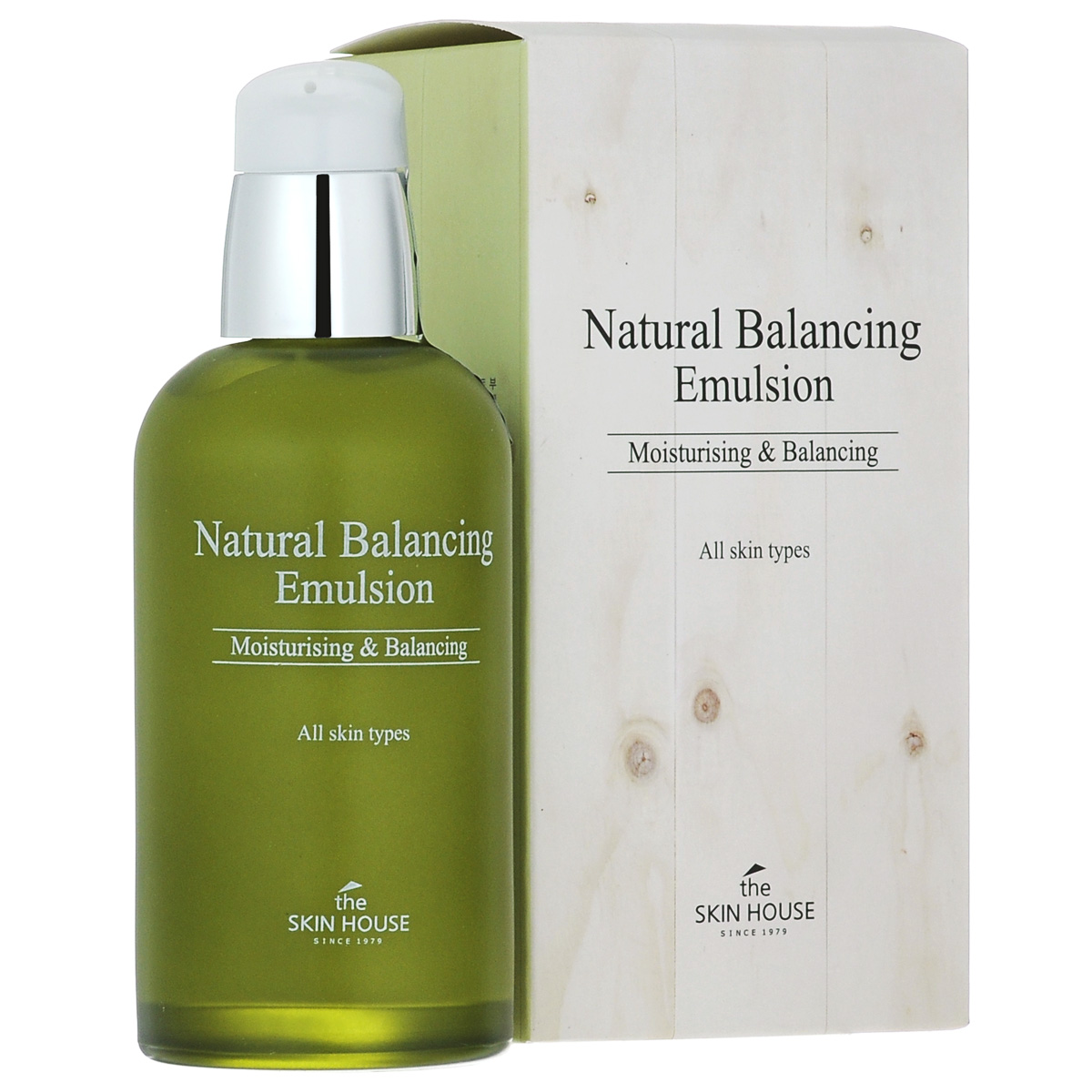 The Skin House Балансирующая эмульсия Natural balancing, 130 мл эмульсия the skin house the skin house th009lwett26