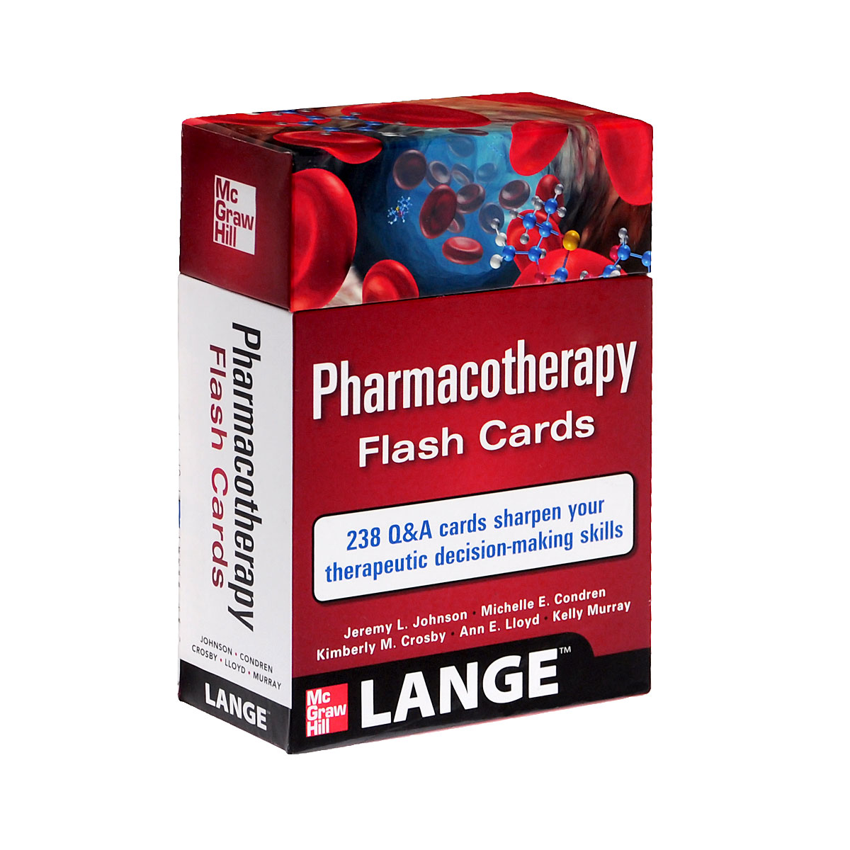 Pharmacotherapy Flash Cards (набор из 304 карточек)