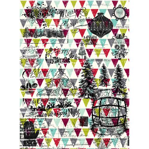 Рисовая бумага для декупажа Craft Premier Рождество-251, 28 х 38 смCD0251Рисовая бумага для декупажа Craft Premier Рождество-251 - мягкая бумага с выраженной волокнистой структурой, которая легко повторяет форму любых предметов. При работе с этой бумагой вам не потребуется никакой дополнительной подготовки перед началом работы. Вы просто вырезаете или вырываете нужный фрагмент и хорошо проклеиваете бумагу на поверхности изделия. Рисовая бумага для декупажа идеально подходит для стекла. В отличие от салфеток, при наклеивании декупажная бумага практически не рвется и совсем не растягивается. Клеить ее можно как на светлую, так и на темную поверхность. Для новичков в декупаже это очень удобно и гарантируется хороший результат. Поверхность, на которую будет клеиться декупажная бумага, подготавливают точно так же, как и для наклеивания салфеток, распечаток и т.д. Мотив вырезаем точно по контуру и замачиваем в емкости с водой, обычно не больше чем на одну минуту, чтобы он полностью впитал воду. Вынимаем и промакиваем бумажным или обычным полотенцем с двух сторон. Равномерно наносим клей на оборотную сторону фрагмента, и на поверхность предмета, с которым работаем. Прикладываем мотив на поверхность и сверху промазываем кистью с клеем легкими нажатиями, стараемся избавиться от пузырьков воздуха, как бы выдавливая их. Делать это нужно от середины к краям мотива. Оставляем работу сушиться. После того, как работа высохнет, нужно покрыть ее лаком.Декупаж - техника декорирования различных предметов, основанная на присоединении рисунка, картины или орнамента (обычного вырезанного) к предмету и далее покрытии полученной композиции лаком ради эффектности, сохранности и долговечности. Плотность: 25 г/м.