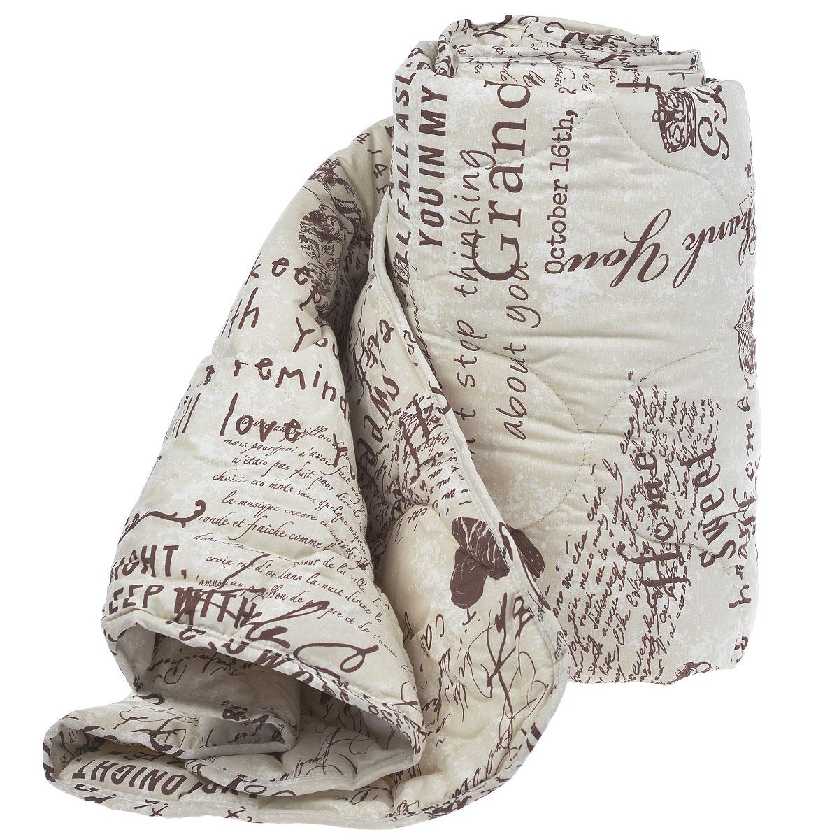 Одеяло Comfort Line Меринос, наполнитель: шерсть мериноса, полиэстер, 140 см х 205 см183678Классическое одеяло Comfort Line Меринос подарит вам незабываемое чувство комфорта и умиротворения. Чехол выполнен из натурального хлопка. Внутри - наполнитель из мериносовой шерсти и и полиэстера. Одеяло постоянно поддерживает нужную температуру: оно греет зимой и дает прохладу летом. Одеяло Comfort Line Меринос помогает просыпаться бодрыми и полными сил. Оно разработано специально для активных людей, заботящихся о своём здоровье, проводящих много времени у компьютера. Изделия из мериносовой шерсти великолепно стимулирует кровообращение, помогают людям, страдающим остеохондрозом, ревматизмом, бронхиальными недугами. Одеяло упаковано в пластиковую сумку-чехол, закрывающуюся на застежку-молнию. Рекомендации по уходу: - Можно стирать в стиральной машине при температуре не выше 40°С. - Не отбеливать. - Не гладить. - Не сушить в барабанной сушке. Материал чехла: хлопок. Наполнитель: мериносовая шерсть. Размер: 140 см х 205 см.Плотность: 300 г/м2.