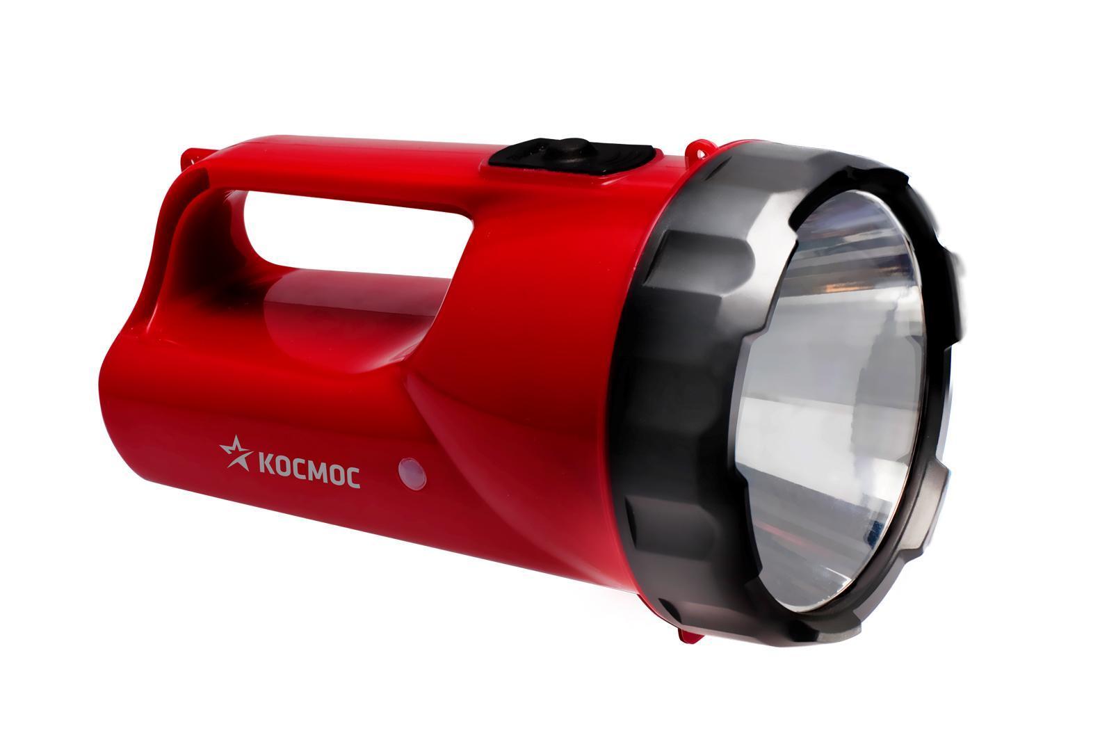Фонарь-прожектор аккумуляторный Космос, цвет: красный. Модель 9191KOCAccu9191LEDФонарь-прожектор Kosmos KOCAccu9191LED весит 0,45 кг. Источником света служит 1 светодиодная лампа, которая дает длину светового луча 250 метров. Работает от аккумулятора. Удобен для использования дома и на природе. Время работы - 16 часов.Характеристики:Емкость аккумуляторной батареи:6V/2Ah.Напряжение:6 V.Дальность свечения: 250 м.Рабочие температуры фонаря (при полностью заряженной батарее): от - 10°С до +40°С. Характеристики:Материал: пластик, стекло, металл, текстиль. Размер фонаря:16 см х 10 см х 10 см. Емкость аккумуляторной батареи:6V/2Ah. Напряжение:6 V. Дальность свечения: 250 м. Яркость свечения: 240 лм: Рабочие температуры фонаря (при полностью заряженной батарее):от - 10°С до +40°С. Размер упаковки:19,5 см х 13 см х 13 см. Производитель: Россия. Изготовитель: Китай. Артикул:KOCAP2008A-LED. Прилагается инструкция по эксплуатации на русском языке.Космос - российский бренд электротоваров, созданный, чтобы обеспечить отечественного покупателя качественной энергосберегающей и энергоэффективной продукцией в категориях:Лампы, светильники Сезонные электротовары Элементы питания, фонари Электроустановочные изделия. Лучшие заводы шести стран мира: Россия, Украина, Белоруссия, Китай, Корея, Япония производят товары Космос на базе современных технологий.