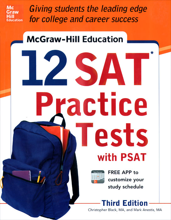McGraw-Hill Education: 12 SAT Practice Tests with PSAT