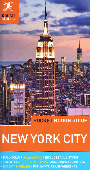 New York City: The Rough Guide Map футболка женская zoo york diamonds in the rough lemon drop