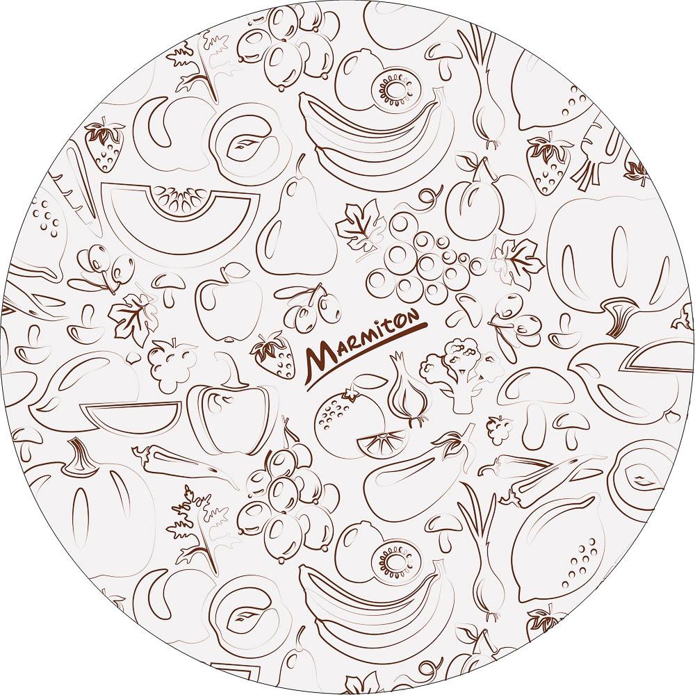 """Крышки-чехлы для посуды """"Marmiton"""", изготовленные из полиэтилена, предназначены для сохранения свежести продуктов, напитков в открытых емкостях. С их помощью вы сможете хранить тарелки с салатом, открытые банки или кувшины с напитками, разрезанные арбузы и дыни. Резинка плотно закрепляет чехол на посуде и надолго сохраняет свежесть ваших продуктов на столе, на террасе или в холодильнике.      В набор входят крышки-чехлы:   диаметр 14 см - 2 шт,    диаметр 20 см - 2 шт.  диаметр 26 см - 2 шт."""