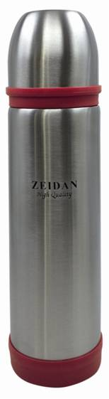 ZEIDAN Z-9036 Термос 500мл, цвет красныйZ-9036 КрасныйТермос, 500мл (корпус и колба из нержавеющей стали, вакуумная технология, открытие пробки одним нажатием, цветные пластиковые вставки - красный)Материал: нержавеющаясталь,пластик; цвет: красный