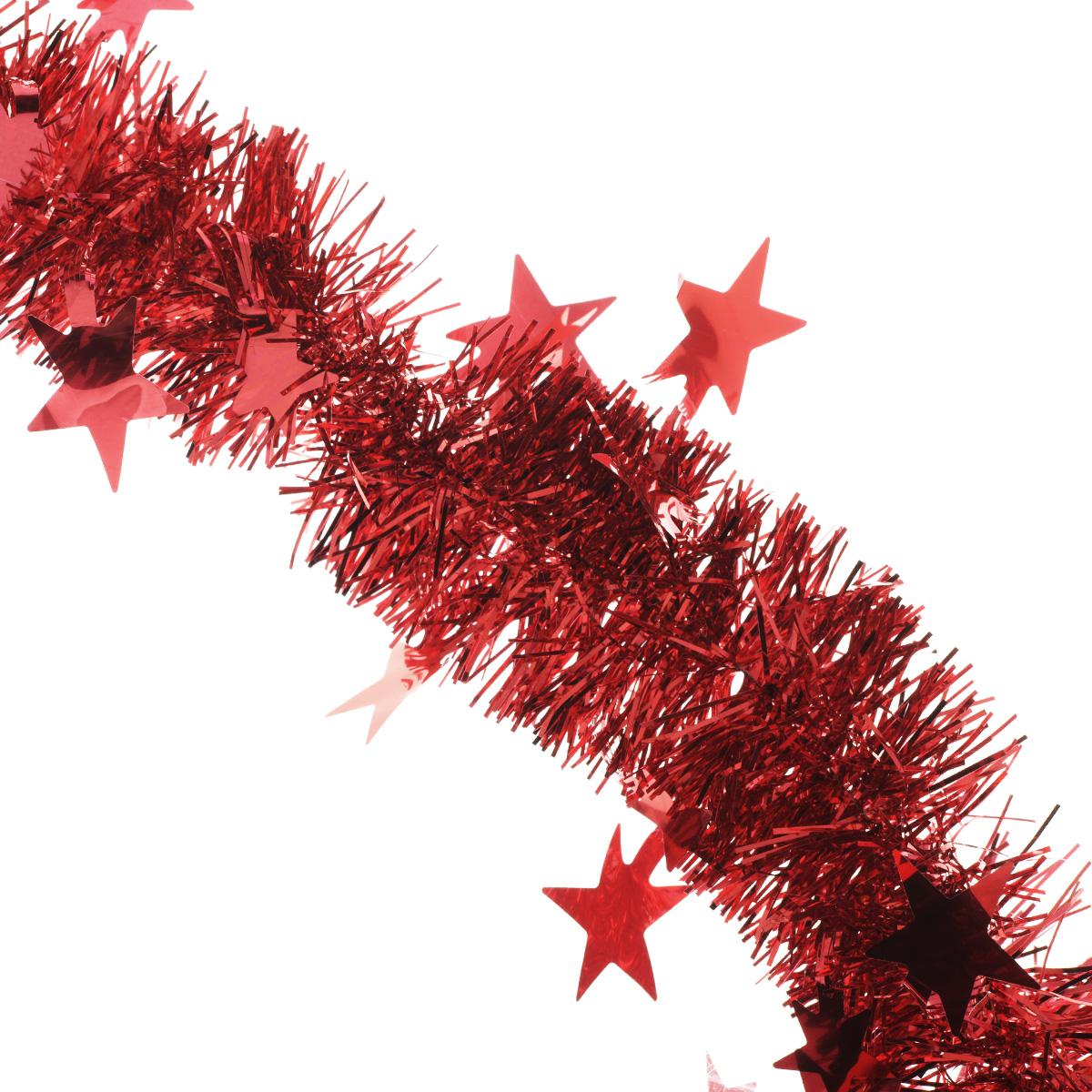 Мишура новогодняя Sima-land, цвет: красный, диаметр 5 см, длина 2 м. 702609702609Мишура новогодняя Sima-land, выполненная из фольги, поможет вам украсить свой дом к предстоящим праздникам. Мишура армирована, то есть имеет проволоку внутри и способна сохранять приданную ей форму.Новогодняя елка с таким украшением станет еще наряднее. Новогодней мишурой можно украсить все, что угодно - елку, квартиру, дачу, офис - как внутри, так и снаружи. Можно сложить новогодние поздравления, буквы и цифры, мишурой можно украсить и дополнить гирлянды, можно выделить дверные колонны, оплести дверные проемы. Коллекция декоративных украшений из серии Зимнее волшебство принесет в ваш дом ни с чем несравнимое ощущение праздника! Создайте в своем доме атмосферу тепла, веселья и радости, украшая его всей семьей.