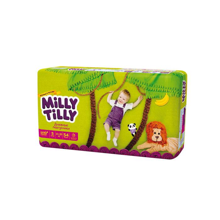 Milly Tilly Подгузники дневные Junior, 11-25 кг, 54 шт подгузники детские milly tilly milly tilly дневные подгузники для детей мини 2 3 6кг 68шт